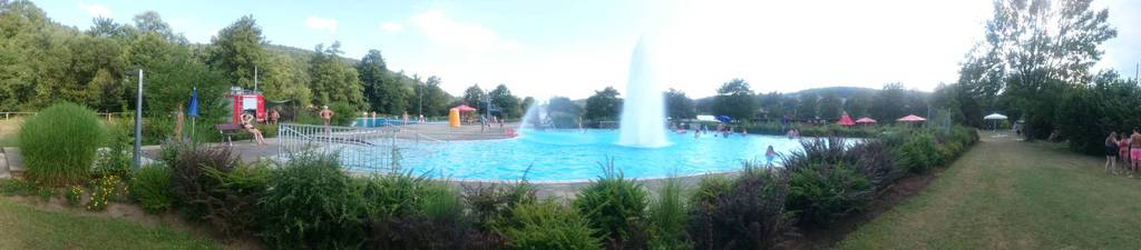 Schwimmbadfest Burgsinn