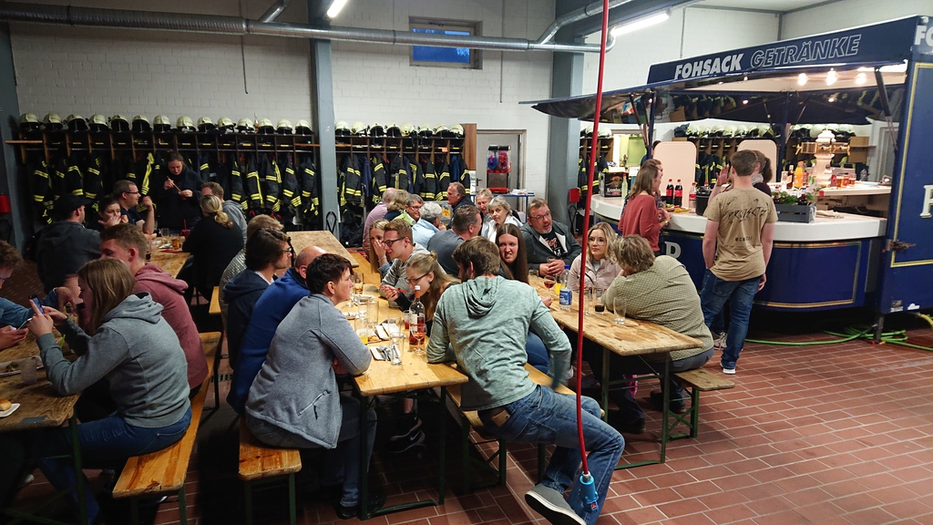 Besuch der FF Bönningstedt